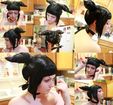 Juri Han Wig Commission - Test by xHee-Heex