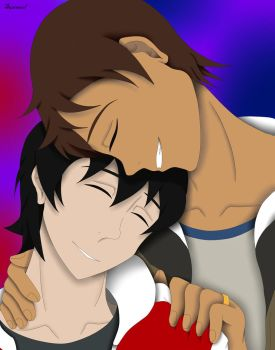 Keith x Lance Fanart by SunpooltheWaterCat