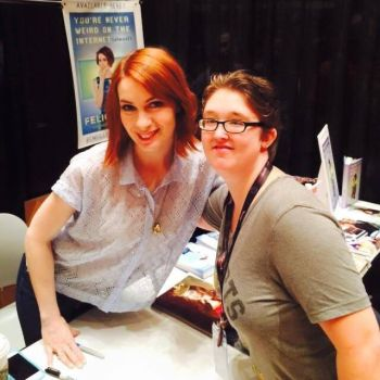 Felicia Day aka Charlie from SPN by downtonabbeyroad394