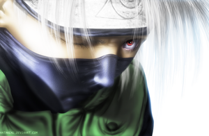 Kakashi angry by Lxich
