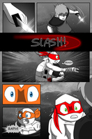 TMNT UNLEASHED-Wolf Hunt CH1 PAG16 by sandriux2000