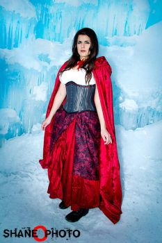 Red from Once Upon a Time Costume - Ice Castles 6 by PhoenixForce85