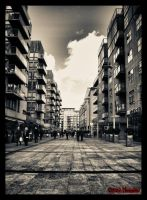 Down the street by haggins11