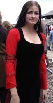 Larp: Lady in red by Iardacil-stock