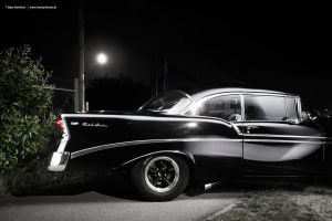 Bel Air at night by AmericanMuscle