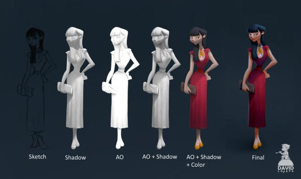 Ambient Occlusion Painting Tutorial by Ardinaryas