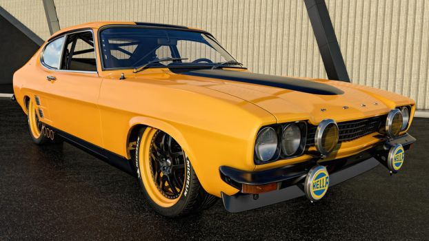 1974 Ford Capri GT by SamCurry