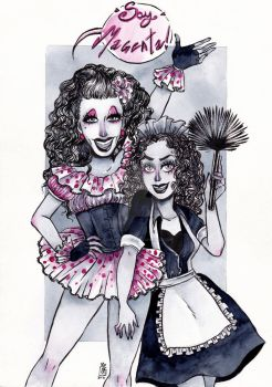 The Magenta Girls - Commission by CamilaRaposa