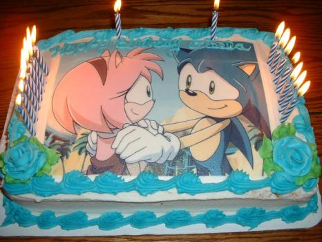 Cake Art By Amy Hours : #xsonic Explore xsonic on DeviantArt