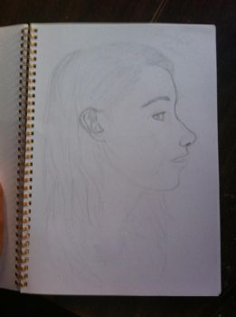 My cousins profile Kaylee by Mayble-Leaf