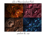 Life In Mono-Gradient Pack by chibiamy