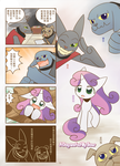 A dog and a filly show p1 Chinese by HowXu