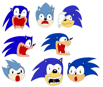 Sonic Reactions by ProjectANGEL101