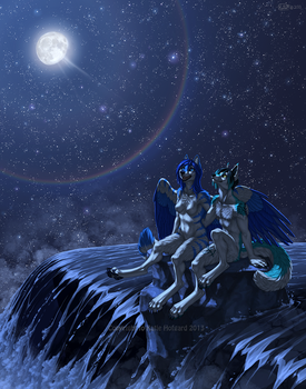 Casting Beyond The Moon by KatieHofgard