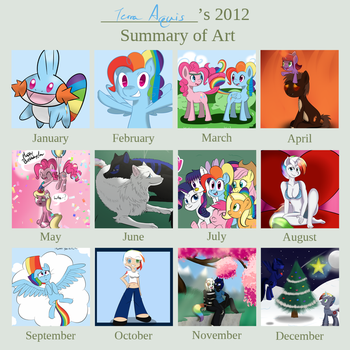A Year of Art by Terra-Aquis