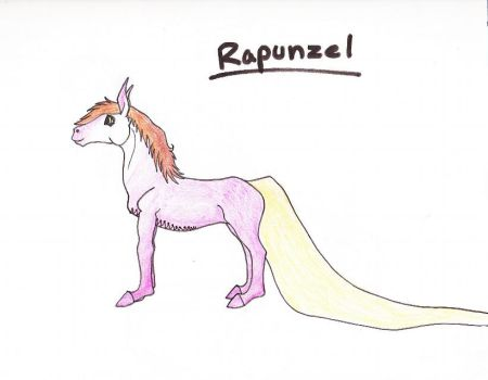 Rapunzel :) by TheDragonGirl123