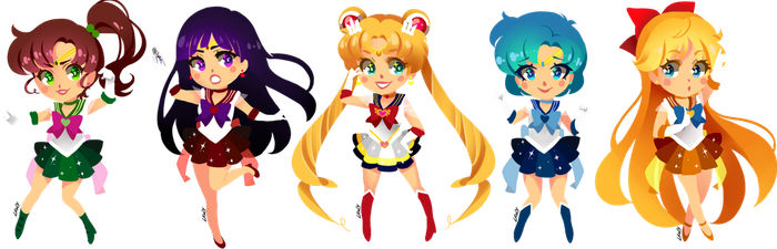 Sailor moon by lawy-chan