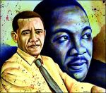 Obama - Luther King by BenHeine