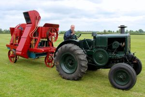 Clayton and Shuttleworth Chaff Cutter by Daniel-Wales-Images