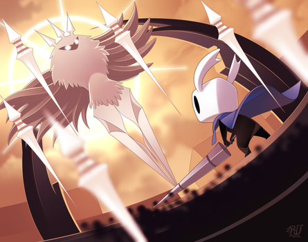Hollow Knight RQ from Kenshi by phation
