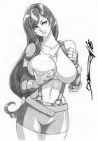 Commission - Tifa Lockhart by daicombo