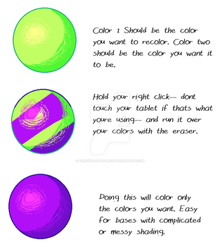 MS Paint Recoloring Mini Tutorial {Easy Recolor} by FrigginAdoptables