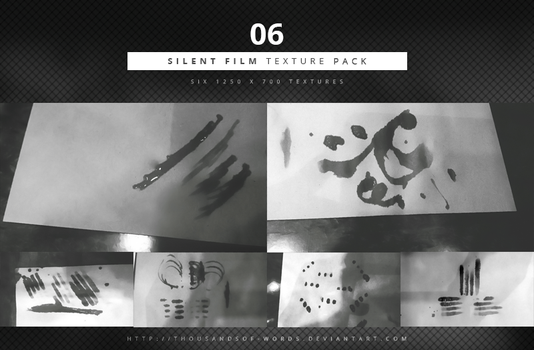 TEXTURE PACK 06 | Silent Film by herrondale