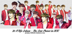 Render Luhan - The Lost Planet (20 PNGs) by jemmy2000