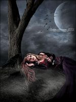 Dark Moonlit Beauty by SuzieKatz