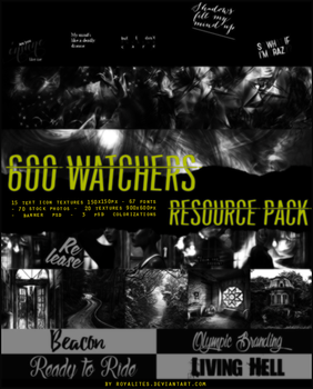 600 watchers resource pack by Royalites