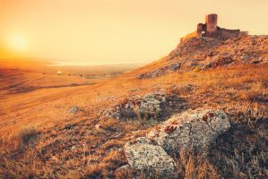 Enisala fortress by sican