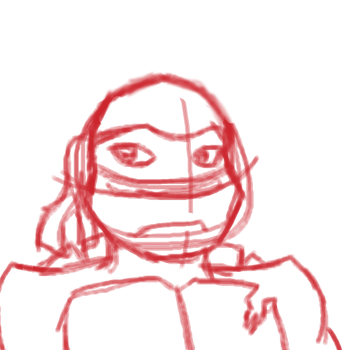 raph's face by ShadowIshAweshome