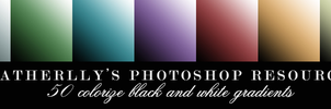Colorize Black and White Gradients by Heatherlly