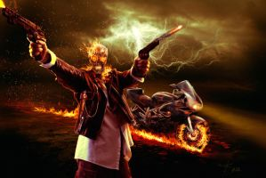 Ghost Rider by Energiaelca1