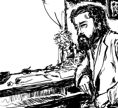 Claude Debussy by goeyoshi