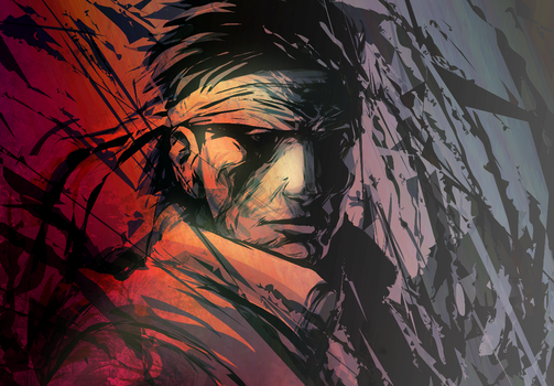 Solid Snake by a-stepchen
