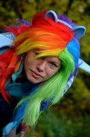 Don't mess with a Rainbow. by Milchwoman