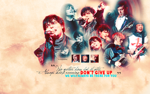 Don't Give Up wallpaper 085 by saygreenday