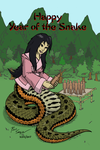 Year of the Snake - Nuwa by Ross-Sanger
