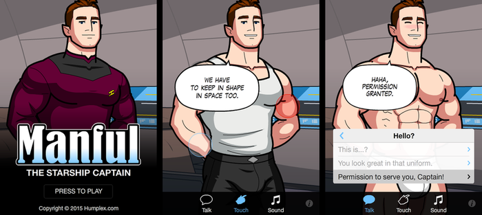 Manful: The Starship Captain by humbuged