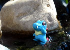Totodile by Blackash