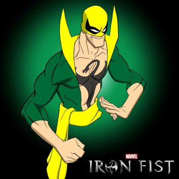 Iron Fist colors. by icemaxx1