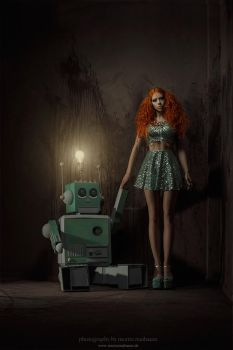 Robot love by Ophelia-Overdose
