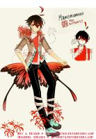 [CLOSED] Mamemamono: Red Butterfly by Staccatos
