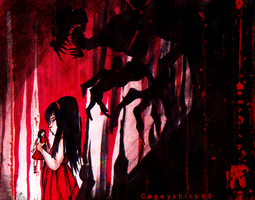 Scarlets shadow by Cageyshick05
