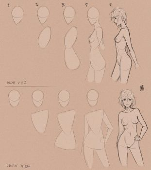 Body step_by_step. by mkw-no-ossan