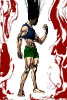 Gon Bloodlust_HxH by Gugamend