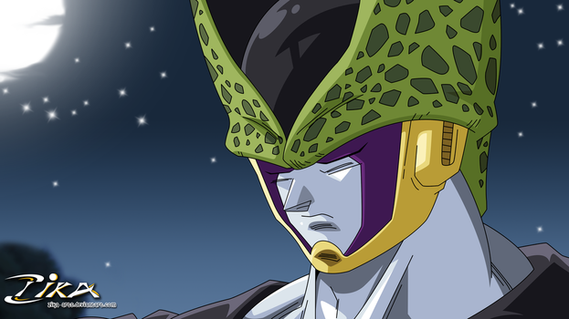 Perfect Cell Think by zika-arts