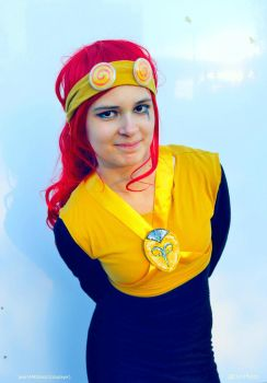 Fem! Jack Spicer cosplay IV. by pearlANDblood