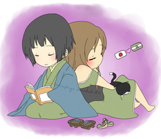 JapAnd - Relaxing Time by ArantxaCosplayer